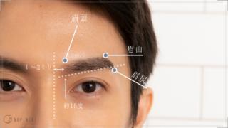 【男の眉毛】メンズ眉の正しい整え方を徹底解説!